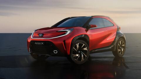 Con el Aygo X prologue, Toyota le sigue apostando a los modelos Cross