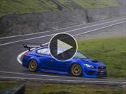 Video: Mark Higgins y Subaru vuelan en Rumania