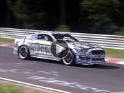 Video: el nuevo Ford Mustang SVT corriendo en Nürburgring