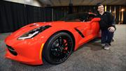 Joe Flacco gana un Corvette Stingray 2014