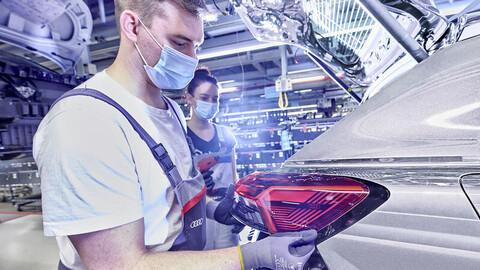 Audi ya produce el Q4 e-tron en Alemania