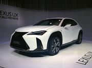 Lexus UX 2019 se presenta