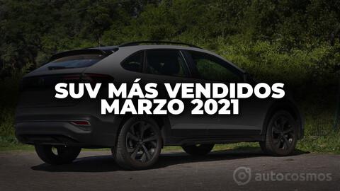Los SUV más vendidos de Argentina en marzo de 2021