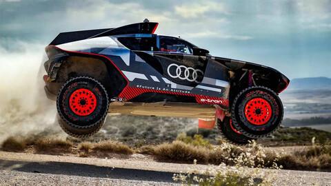 Audi RS Q E-Tron empieza a entrenar de cara al Dakar