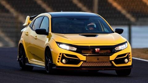 Honda Civic Type R Limited Edition es el auto de tracción delantera más veloz en Suzuka