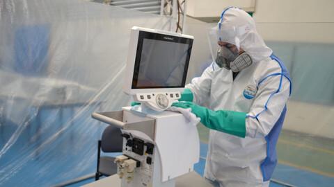 GM Colmotores repara ventiladores pulmonares para fortalecer la red médica