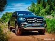 Probando la Mercedes-Benz Clase X 2019