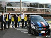 Selección femenina de fútbol colombiana visitó la planta de GM Colmotores
