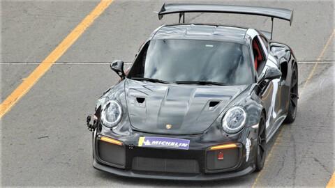 Porsche 911 GT2 RS establece récord en autódromo de Tocancipá