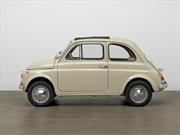 Este FIAT 500 forma parte del Museum of Modern Art  de New York