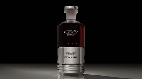 Aston Martin y su whisky de US$ 65.000