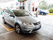 Prueba de consumo en ciudad del SEAT Toledo 2014