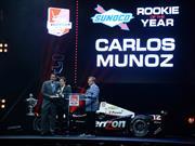 Carlos Muñoz, Novato del Año en la IndyCar 2014