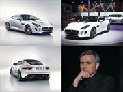 José Mourinho recibe el primer Jaguar F-Type R Coupé