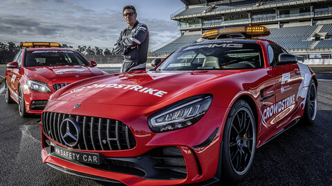 Mercedes-Benz va a pintar sus Safety Cars para la F1, de color rojo Ferrari