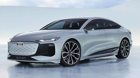 Audi A6 e-tron concept: más autonomía que el A6 normal