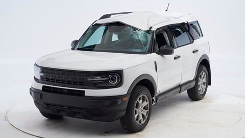 Ford Bronco Sport se destaca en los crash test del IIHS