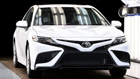 Toyota registra 10 millones de unidades producidas del Camry en la planta de Kentucky
