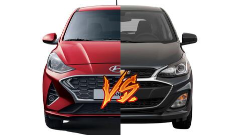 Hyundai Grand i10 vs Chevrolet Spark ¿cuál es el mejor auto para la ciudad?