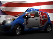Chevrolet Spark, un sofisticado delivery de pizza
