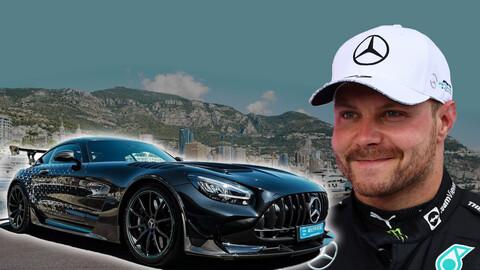 Mirá el souvenir que se lleva Valtteri Bottas de Mercedes