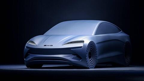 BYD nos muestra el Ocean-X, el primer auto que usará la Plataforma-e 3.0 eléctrica