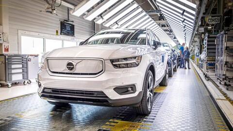 Se inicia la producción del primer Volvo 100% eléctrico