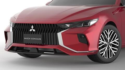 Así se vería el Mitsubishi Lancer si regresara al mercado