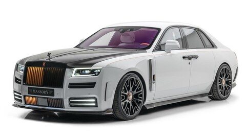 Rolls-Royce Ghost V12 por Mansory: más poderoso que nunca
