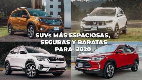 Las 10 camionetas más espaciosas, seguras y baratas para 2020