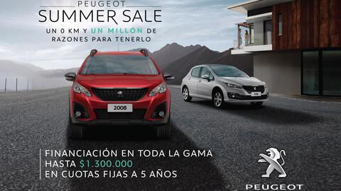 Peugeot continúa con el Summer Sale y sus promociones
