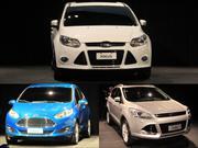 Ford presenta los nuevos Fiesta KD, Focus III y Kuga