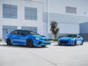 Subaru WRX STI y BRZ 2016 edición especial Series HyperBlue devutan