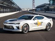 Chevrolet Camaro SS 50th Anniversary Edition 2017 es el pace car de la Indy 500 2016