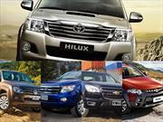 Top 5: las pick-ups más vendidas en Enero de 2014