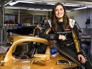Tatiana Calderón comanda escuadrón femenino en la Fórmula E