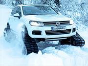 Volkswagen presenta el Snowareg, un Touareg para la nieve