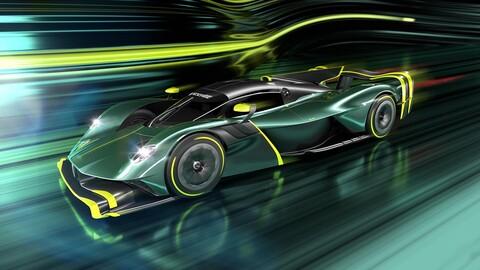 Primeras imágenes del Aston Martin Valkyrie AMR Pro
