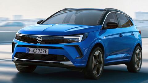 Opel Grandland 2022, el crossover desarrollado por Vauxhall y Opel deja ver una nueva silueta