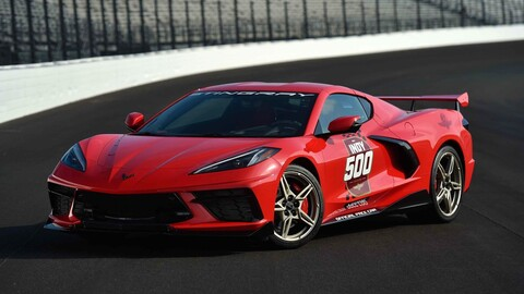 Chevrolet Corvette C8 Stingray es el Pace Car de las 500 Millas de Indianápolis 2020