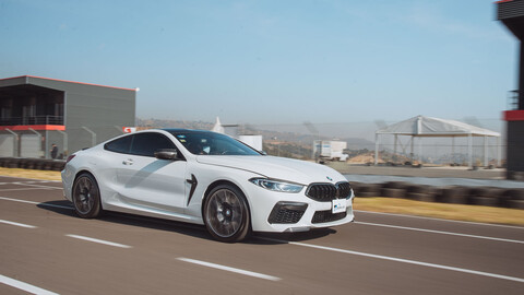 Manejamos el BMW M8 Competition