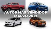 Los 10 autos más vendidos en Argentina en marzo de 2019