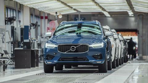 La principal planta de Volvo en China ya utiliza energía eléctrica 100% renovable