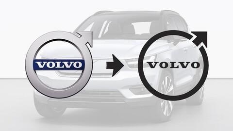 Volvo cambia sorpresivamente su logotipo