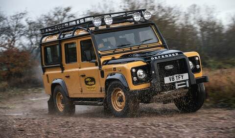 Land Rover Defender Works V8 Trophy: Vuelve un clásico