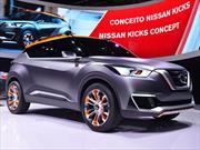 Nissan Kicks Concept, patea el tablero
