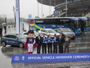 Hyundai y Kia entregan 875 vehículos para la Euro 2016
