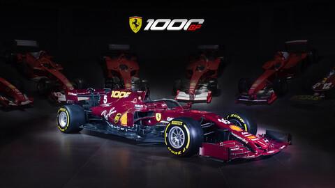 F1 2020: Ferrari celebra su carrera 1.000 con un toque retro