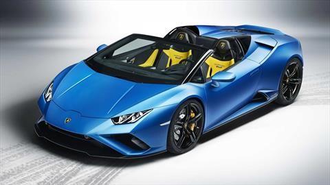 Lamborghini Huracán EVO RWD Spyder hace su estreno virtual en realidad aumentada