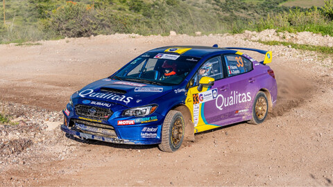 Subaru de México presenta su equipo de rallies, denominado Quálitas Subaru Rally Team